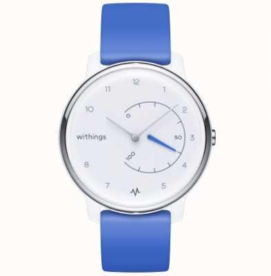 Withings Déplacer l'ecg | blanc et bleu | traqueur d'activité HWA08-MODEL 2-ALL-INT
