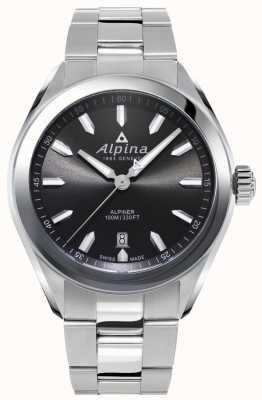 Alpina | homme alpiner | bracelet en acier inoxydable | cadran gris | AL-240GS4E6B