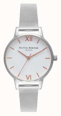Olivia Burton | les femmes | midi | bracelet en acier inoxydable | OB16MDW22