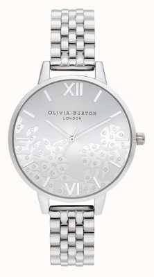 Olivia Burton | femmes | dentelle ornée de bijoux | bracelet en acier inoxydable | OB16MV101