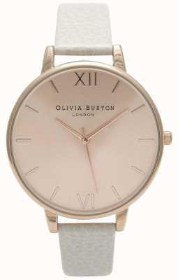Olivia Burton | les femmes | cadran solaire | bracelet en cuir de vison | OB13BD11