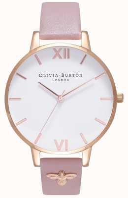 Olivia Burton   les femmes   Abeille 3d   bracelet en cuir à ornements   OB16ES15