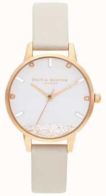 Olivia Burton   les femmes   la montre qui souhaite   sangle nue végétalienne   OB16SG09