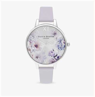 Olivia Burton | les femmes | fleurs au soleil | bracelet en cuir violet parme | OB16EG137