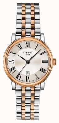 Tissot | carson premium lady | bracelet deux tons | T1222102203301