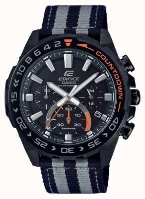 Casio | hommes | édifice | premium | bracelet noir gris | regarder | EFS-S550BL-1AVUEF