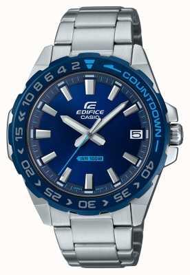 Casio | hommes | édifice | classique | cadran bleu | acier inoxydable | EFV-120DB-2AVUEF
