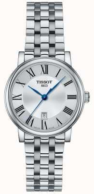 Tissot | femme carson | bracelet en acier inoxydable | cadran argenté | T1222101103300