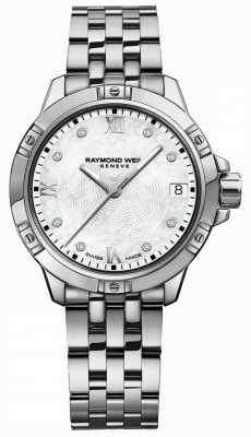 Raymond Weil | tango femmes | cadran serti de diamants | bracelet en acier inoxydable 5960-ST-00995