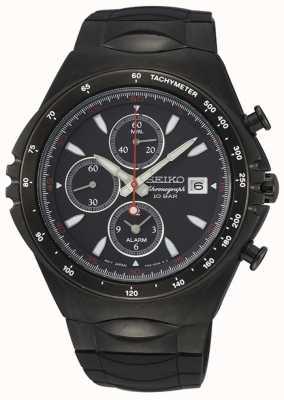 Seiko | série conceptuelle | chronographe ip noir | montre de sport | SNAF87P1