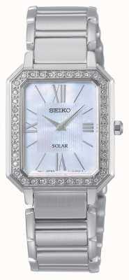 Seiko | série conceptuelle | classique | solaire | bracelet bicolore | SUP427P1