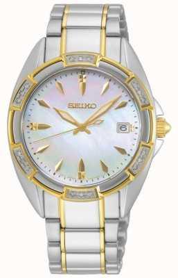 Seiko | série conceptuelle | les femmes | bracelet en or deux tons | SKK880P1