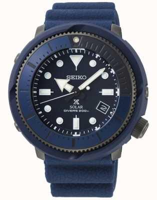 Seiko | prospex | série de rue | silicone bleu marine | plongeur | SNE533P1