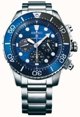 Seiko | Prospect Diver's | sauver l'océan | cadran bleu chronographe | SSC741P1