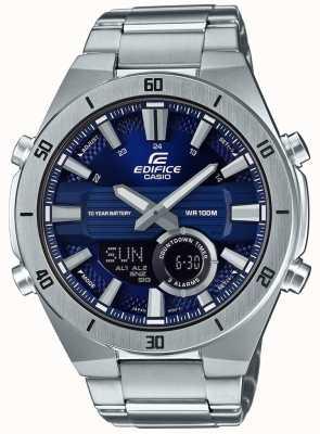Casio | édifice | hommes | chronographe standard | cadran bleu | ERA-110D-2AVEF