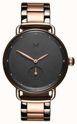 MVMT Bloom bronze à canon rose | bracelet rose pvd | cadran noir D-FR01-TIRG