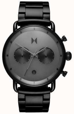 MVMT | blacktop starlight | bracelet pvd noir | cadran gris | D-BT01-BB