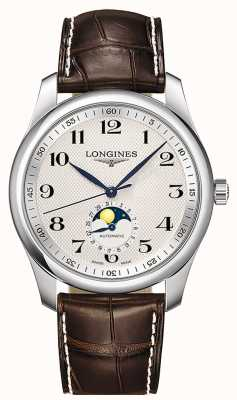 Longines Collection Master | phase de lune | hommes | suisse automatique | L29094783