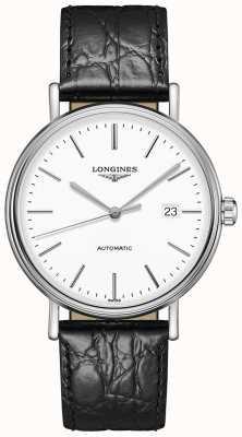 Longines Présence | suisse automatique | bracelet en cuir noir L49224122