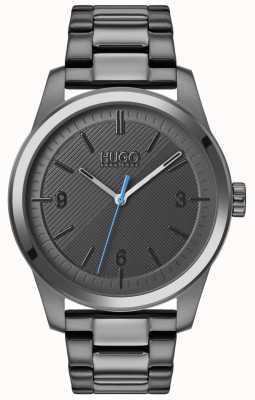 HUGO #create | bracelet ip gris | cadran gris 1530119