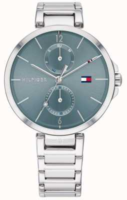 Tommy Hilfiger | angela | bracelet en acier inoxydable | cadran bleu | 1782126