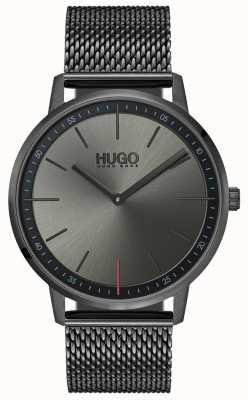 HUGO #exist | gris maille ip | cadran gris 1520012