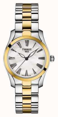 Tissot | bracelet bicolore pour femme | cadran en nacre | T1122102211300