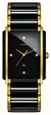 Rado | diamants intégraux | céramique high-tech | cadran carré noir R20204712