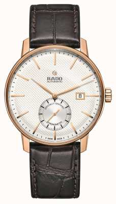 Rado Montre Coupole Classic automatique en cuir marron R22881025