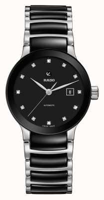 Rado | centrix diamants automatique | céramique high-tech R30009752