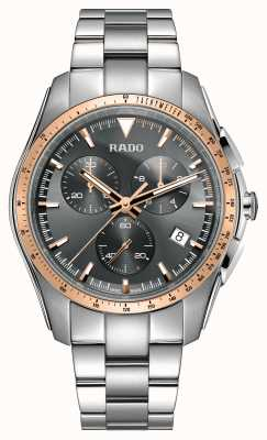 Rado | xxl chronographe hyperchrome | acier inoxydable | cadran gris | R32259163