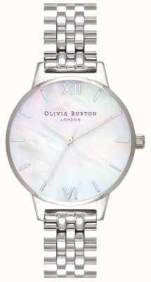 Olivia Burton | femmes | cadran en nacre | bracelet en acier inoxydable | OB16MOP02