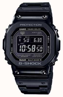 Casio | g-shock tout métal | solaire difficile | cadran numérique | noir GMW-B5000GD-1ER