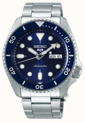 Seiko 5 sport | sports | automatique | cadran bleu | acier inoxydable SRPD51K1