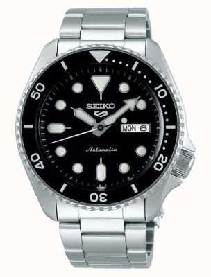 Seiko 5 sport | sports | automatique | cadran noir | acier inoxydable SRPD55K1