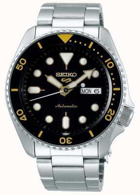 Seiko 5 sport | sports | automatique | cadran noir et or SRPD57K1