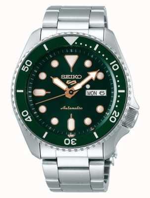 Seiko 5 sport | sports | automatique | cadran vert | acier inoxydable SRPD63K1