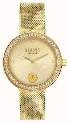 Versus Versace | léa femmes | bracelet en maille d'or | cadran en or | VSPEN0819