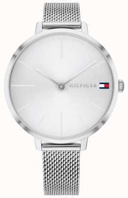 Tommy Hilfiger Projet z | bracelet en maille d'acier | cadran argenté | 1782163
