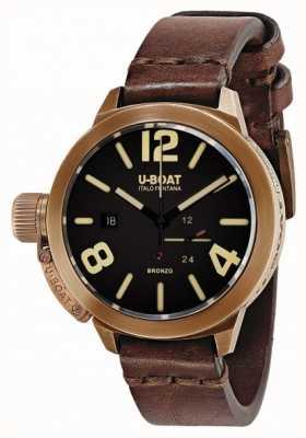 U-Boat Classico 50 bronzo un bracelet marron 8104