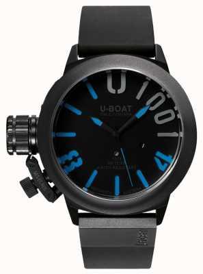 U-Boat Bracelet en caoutchouc bleu Classico 47 1001 ipb 7541
