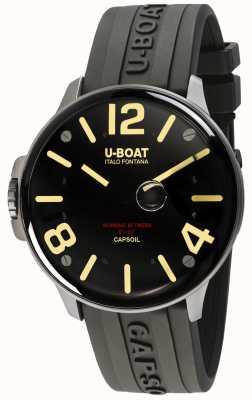 U-Boat Capsoil ss électromécanique cuir marron 8110/A