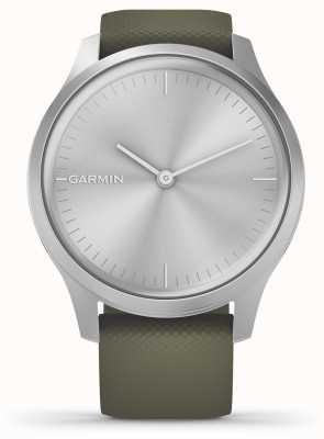 Garmin Style Vivomove 3 | boîtier en aluminium argenté | bracelet en silicone mousse 010-02240-01