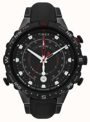 Timex | alliés 45mm | bracelet en tissu noir | cadran noir | TW2T76400