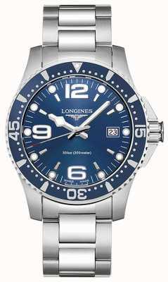 Longines Hydroconquest | Boîtier de 41mm | cadran bleu | montre de plongée L37404966