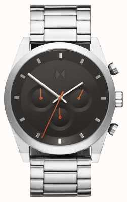 MVMT Element chrono | bracelet en acier inoxydable | cadran gris | 28000046-D