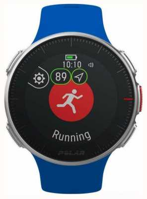 Polar | vantage v (avec sangle hr) | bleu | gps multi sport hr 90080284