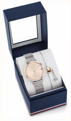 Tommy Hilfiger Coffret cadeau montre et bracelet pippa femme 2770053