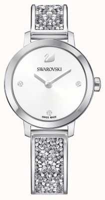 Swarovski | roche cosmique | bracelet en acier inoxydable | cadran blanc 5376080