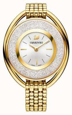 Swarovski Cristallin   ovale   bracelet pvd en or   cadran argenté 5200339